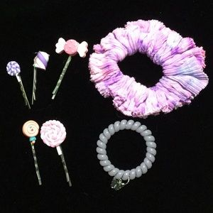 Life is Sweet Kawaii Candy Hair Accessory Bundle